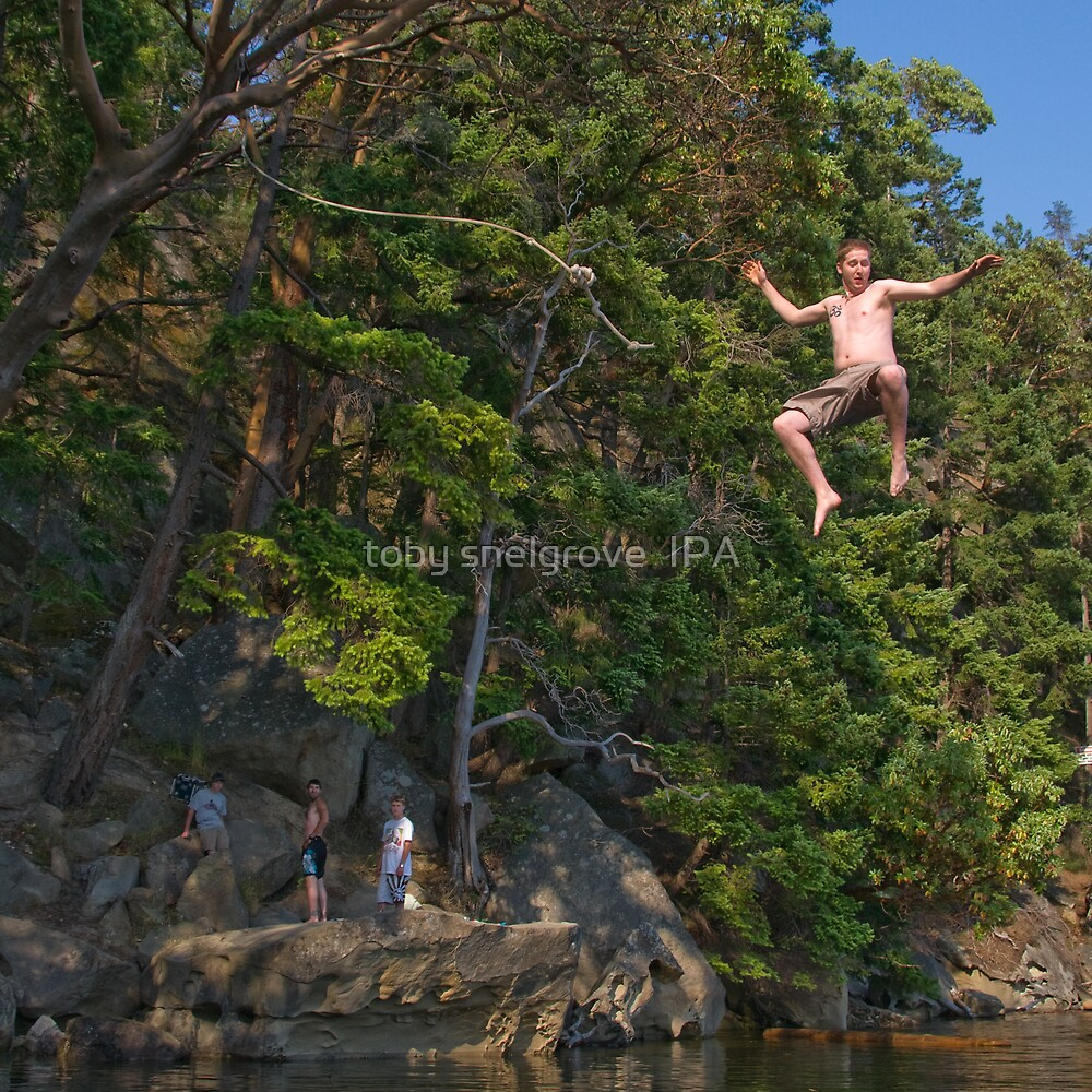 The Rope Swing, Campbell Bay by toby snelgrove  IPA