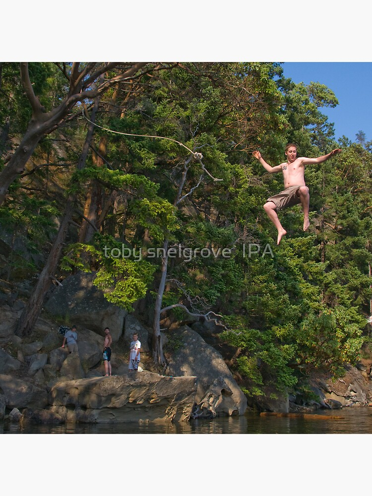 The Rope Swing, Campbell Bay by tobysnelgrove