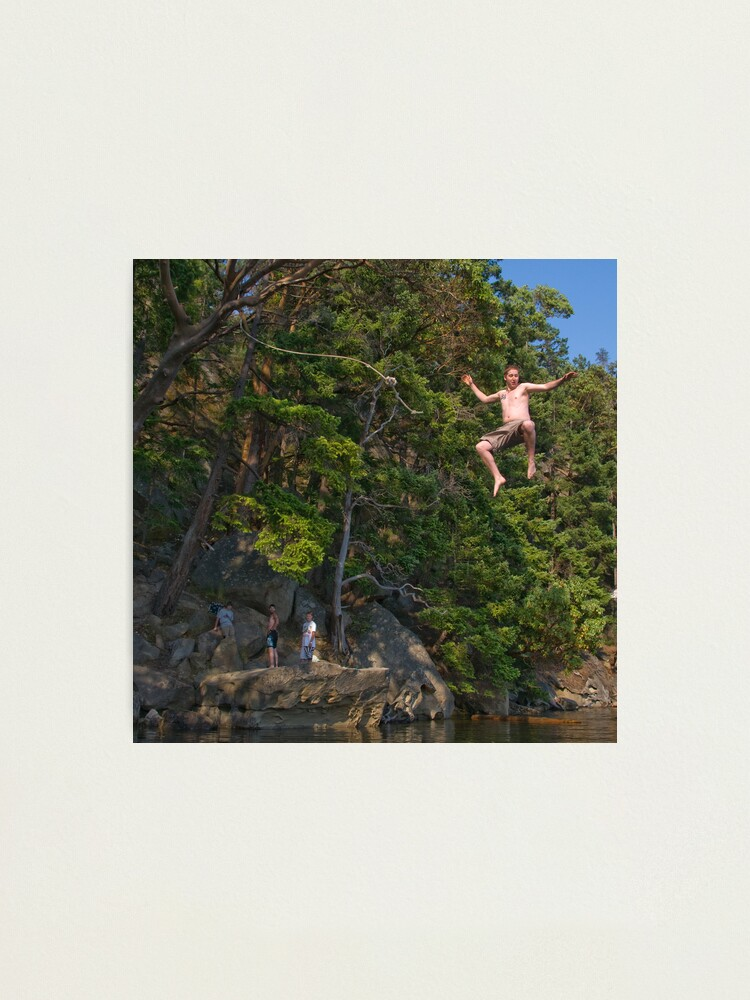 Alternate view of The Rope Swing, Campbell Bay Photographic Print
