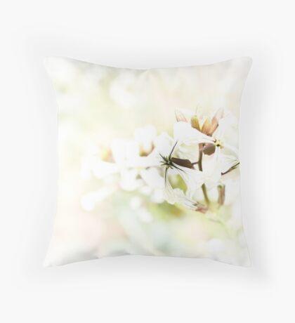 Rocket Flower Throw Pillow