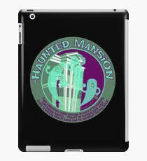 The Haunted Mansion (purple and green) iPad Case/Skin