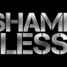 SHAME LESS (white, stickers and prints) by SMUTproject