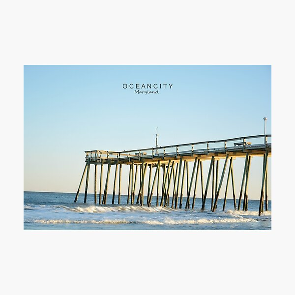 Ocean City Maryland. Photographic Print