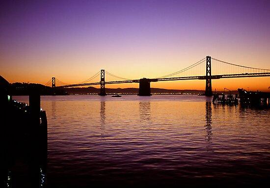 San Franisco  •  Oakland Bay Bridge by Richard  Leon