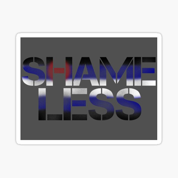 SHAME LESS (kink pride, stickers and cards) Sticker