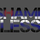 SHAME LESS (kink pride, stickers and cards) by SMUTproject
