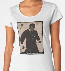 Kung Fu Joe Women's Premium T-Shirt