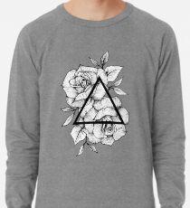 Geometric Roses Lightweight Sweatshirt