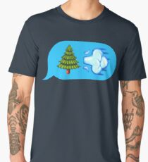 Blowing Trees Men's Premium T-Shirt