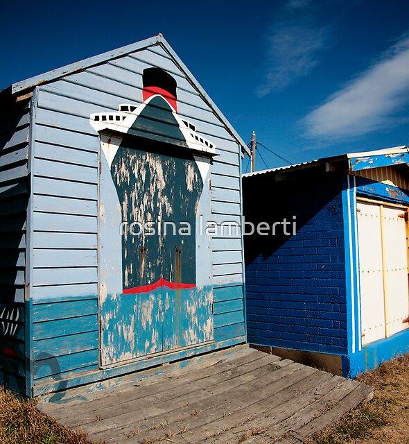 Mornington Peninsula - boat sheds 2013 by Rosina  Lamberti