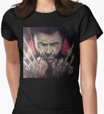 The wolverine Women's Fitted T-Shirt