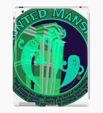 Haunted Mansion (spooky green) iPad Case/Skin
