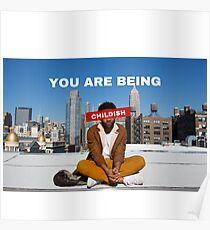 You are being childish Poster