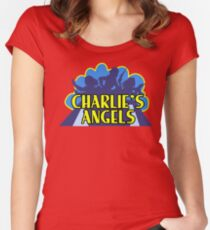 Charlie's Angels Shirt Women's Fitted Scoop T-Shirt
