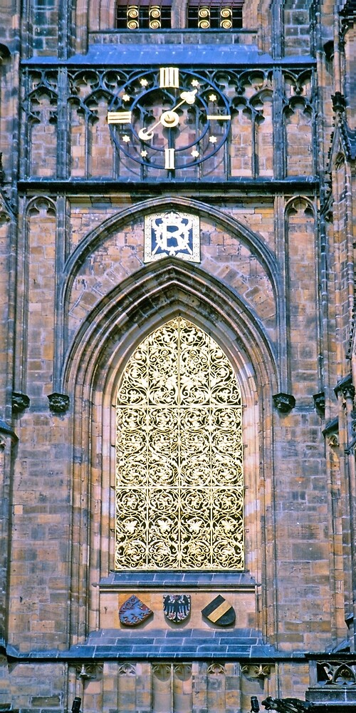 Cathedral Gold, Prague by Priscilla Turner