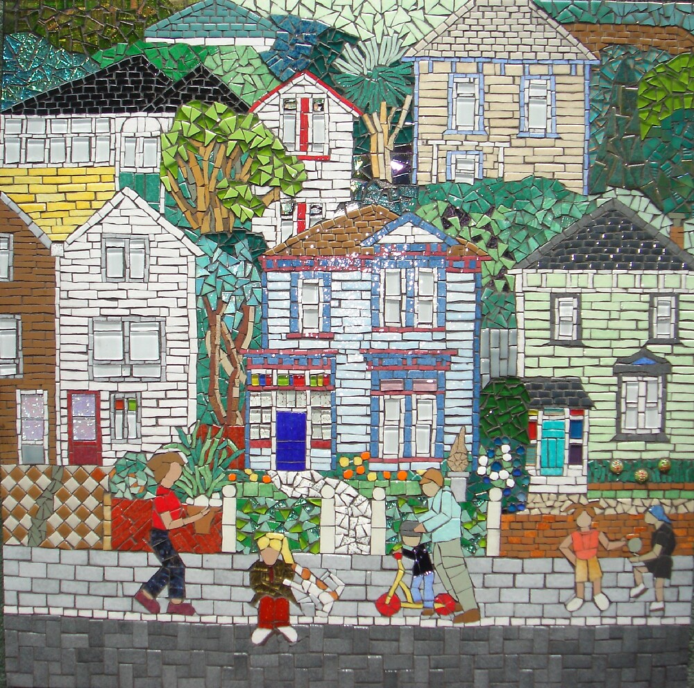 City Streets by mosaica