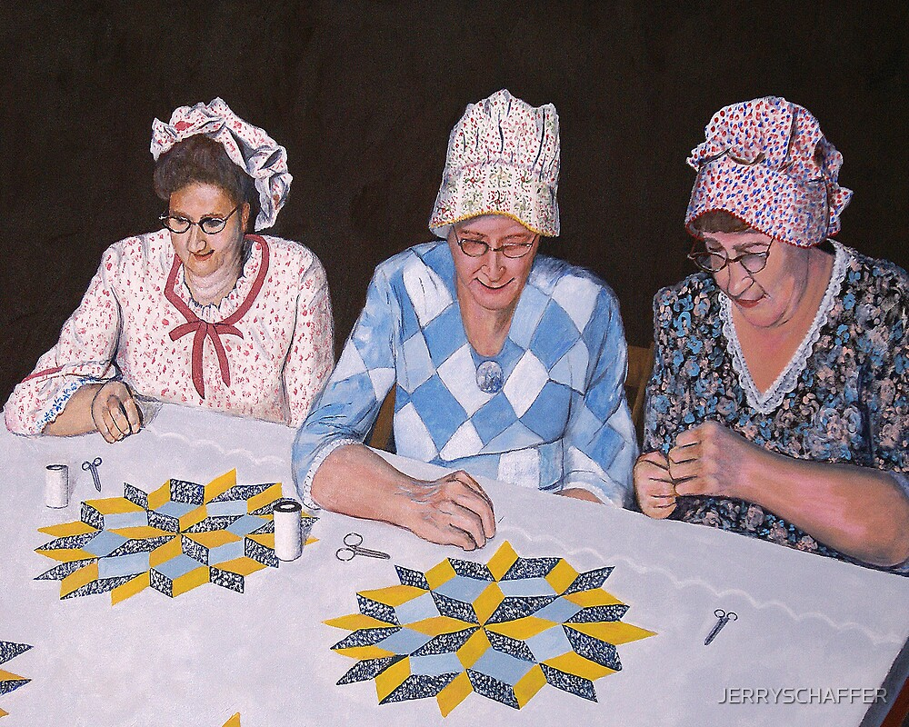 THE QUILTERS by JERRYSCHAFFER