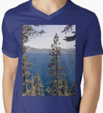 Crate Lake Blue - National Park Forest T-Shirt