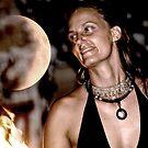 solar eclipse Krystal Fyre Dance by Lisa Hildwine
