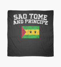 Sao Tomean Flag Shirt - Vintage Sao Tome and Principe T-Shirt Scarf