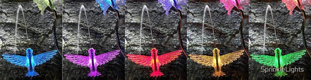 Hummingbird Spitters by SprinkleLights
