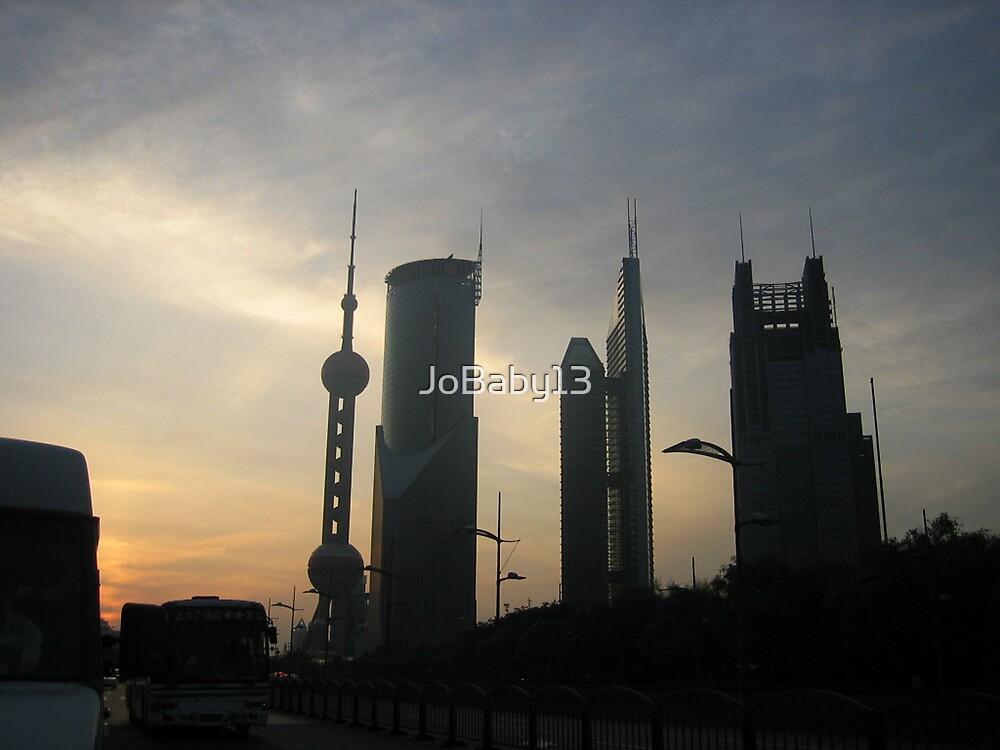 Shanghai Sunset by JoBaby13