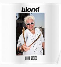 Frank Ocean Blond Poster