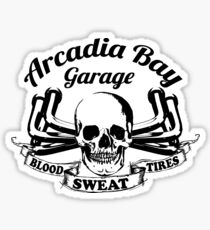 Arcadia Bay Garage - Life is strange Before the storm Sticker
