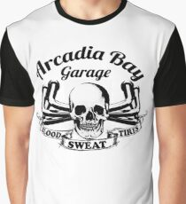 Arcadia Bay Garage - Life is strange Before the storm Graphic T-Shirt