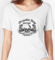 Arcadia Bay Garage - Life is strange Before the storm Women's Relaxed Fit T-Shirt