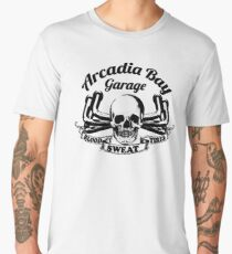 Arcadia Bay Garage - Life is strange Before the storm Men's Premium T-Shirt