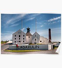 Islay: Lagavulin Poster