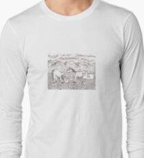 No Horseplay In The Park Long Sleeve T-Shirt