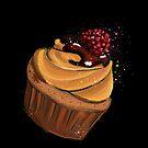Muffin Himbeere von rauschsinnig