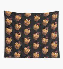 Muffin Himbeere Wandbehang