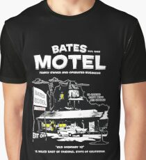 Bates Motel - Open 24 hours Graphic T-Shirt