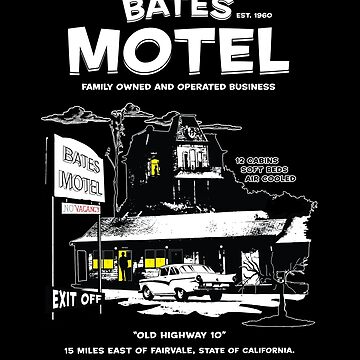 Bates Motel - Open 24 hours by Purakushi