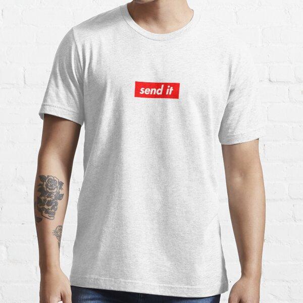 Senden Sie es Supreme Style Logo Design Essential T-Shirt