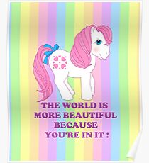 my little pony retro sundance Poster