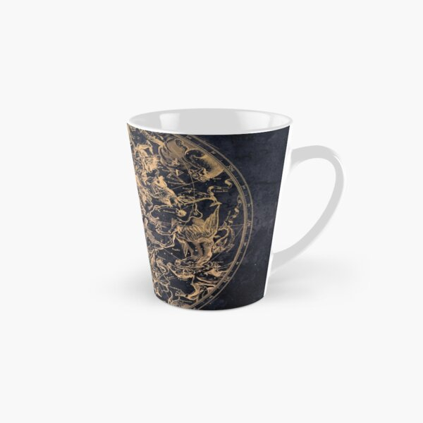 Vintage Constellations and Astrological Signs | Yellowed Ink and Cosmic Colour Tall Mug