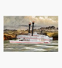 The Robert E Lee Paddle Wheeler 1866 Photographic Print