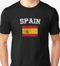 Spaniard Flag Shirt - Vintage Spain T-Shirt Unisex T-Shirt