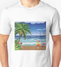 Cocktail on the beach 5 Unisex T-Shirt