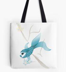 Blue Fish Fun Tote Bag