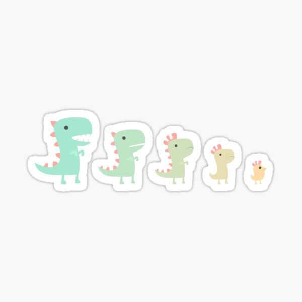 Evolution of a Chicken Sticker