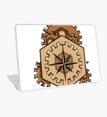 Compass of Cogs Laptop Skin