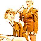 Bugle Girls by GlennRoger