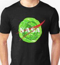 NASA - Rick and morty portal T-Shirt