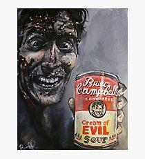 Cream of Evil Dead Photographic Print
