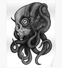 Cephalopod of Doom Poster